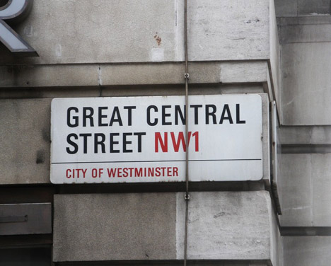 westminster sign frutiger