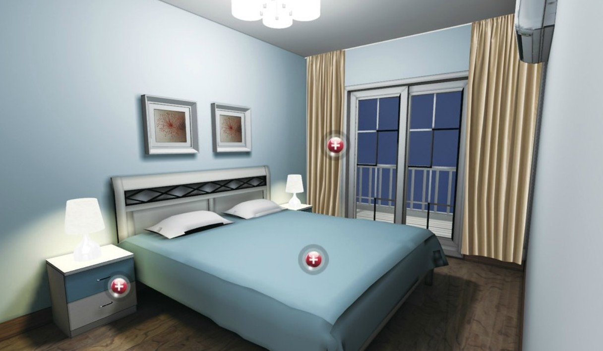 16 beautiful exles of light blue walls in a bedroom 10879 | 1
