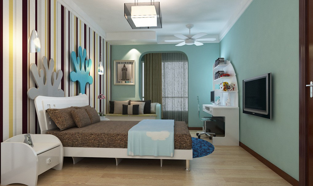Light Blue Walls Bedroom – Blue Walls Bedroom