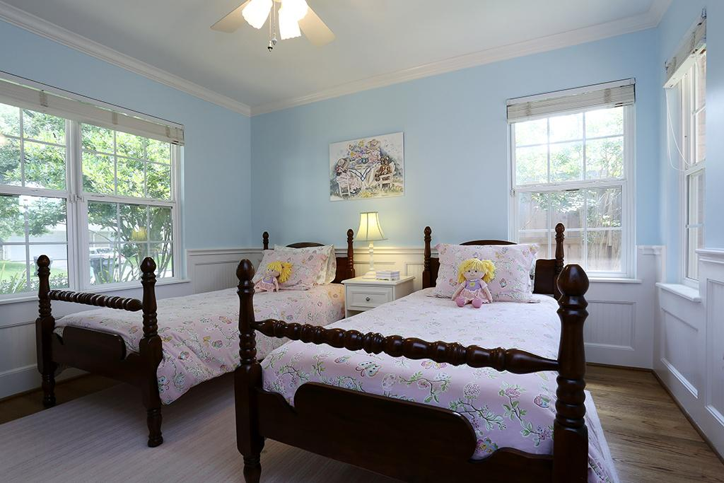 examples of light blue walls in a bedroom this designed that