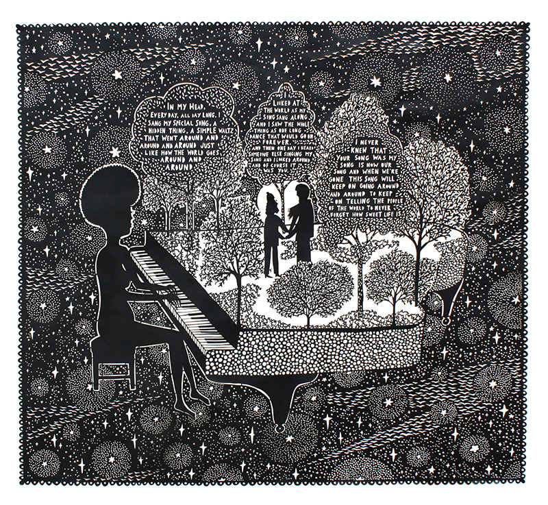 Rob Ryan Paper Cuttings 6